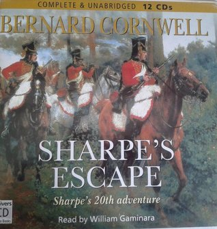 Sharpe's Escape by Bernard Cornwell Unabridged CD Audiobook