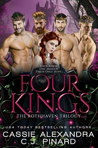 Four Kings: A Reverse Harem Fantasy (Rothhaven Trilogy, #2)