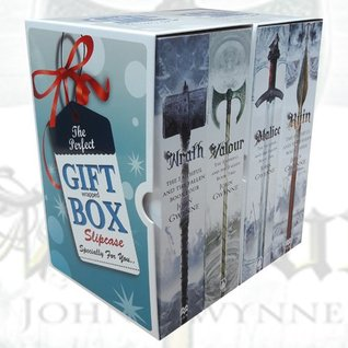 john gwynne 4 books collection set gift wrapped slipcase - malice, valour, ruin, wrath - the faithful and the fallen