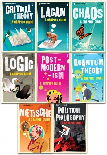 Graphic Guide Introduction to World Changing Events 8 Books Collection Set
