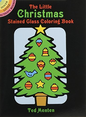 The Little Christmas Stained Glass Coloring Book