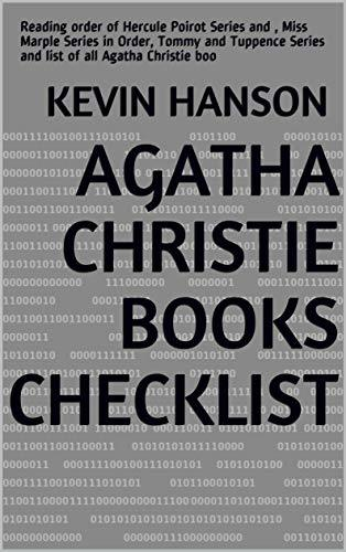 Agatha Christie Books Checklist: Reading order of Hercule Poirot Series and , Miss Marple Series in Order, Tommy and Tuppence Series and list of all Agatha Christie boo