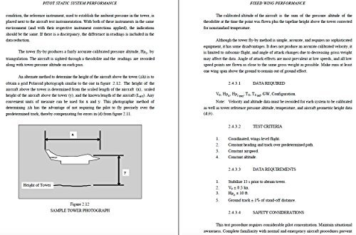 U.S. NAVAL TEST PILOT SCHOOL FLIGHT TEST MANUAL USNTPS-FTM-NO. 108 (PRELIMINARY) FIXED WING PERFORMANCE
