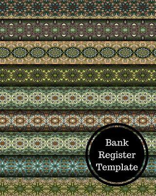 Bank Register Template: Bank Transaction Register