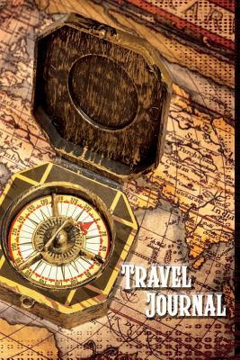 Travel Journal: 6x9 / 100 Lined Pages / Trip Planner / Travel Notebook / World Map 2 / Map Series, Vol. 10