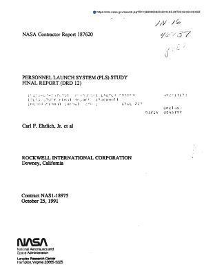 Personnel Launch System (Pls) Study