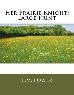Her Prairie Knight: Large Print