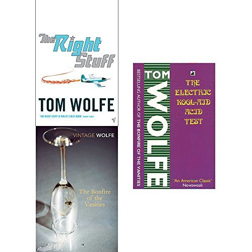 The Right Stuff / The Bonfire of the Vanities / The Electric Kool-Aid Acid Test
