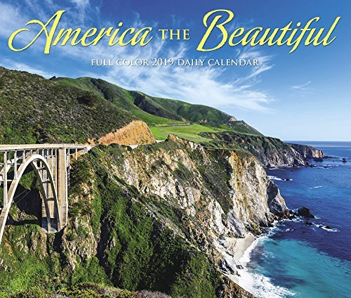 America the Beautiful 2019 Box Calendar