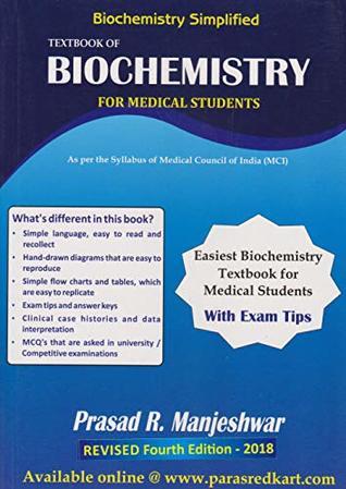 Biochemistry Simplified Textbook of Biochemistry for Medical