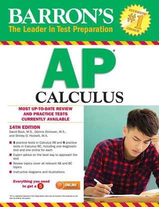 Barron S Ap Calculus 14th Edition By David Bock M S