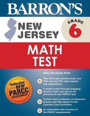 Barron's New Jersey Grade 6 Math Test