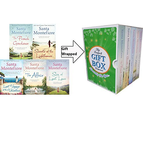 Santa Montefiore Collection 5 Books Bundle Gift Wrapped Slipcase Specially For You