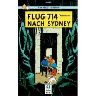 Adventures of Tintin: Flug 714 nach Sydney (German Edition of Flight 714)
