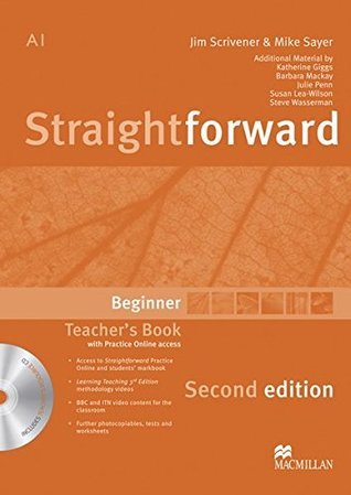 Straightforward Beginner / Teacher's Book with Resource DVD-ROM and Webcode