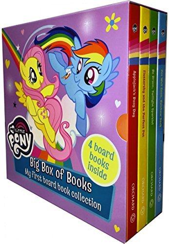 My Little Pony Big Box of Books Collection 4 Books Box Set