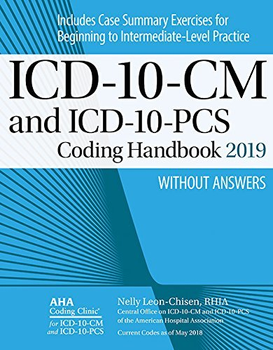 ICD-10-CM and ICD-10-PCS Coding Handbook, without Answers, 2019 Rev. Ed.