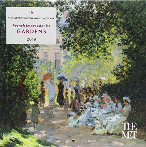 French Impressionist Gardens 2019 Mini Wall Calendar