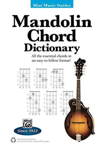 Mini Music Guides - Mandolin Chord Dictionary: All the Essential Chords in an Easy-to-Follow Format!