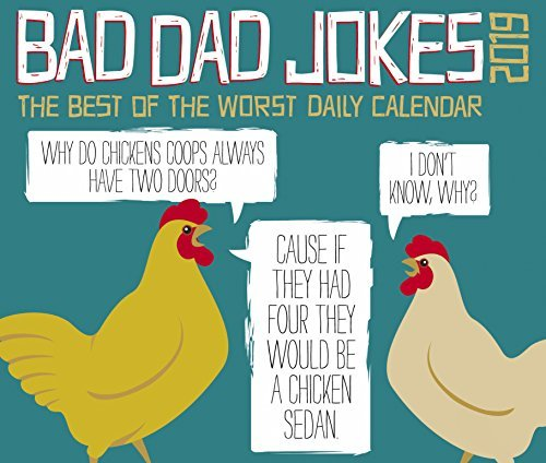 Bad Dad Jokes 2019 Box Calendar