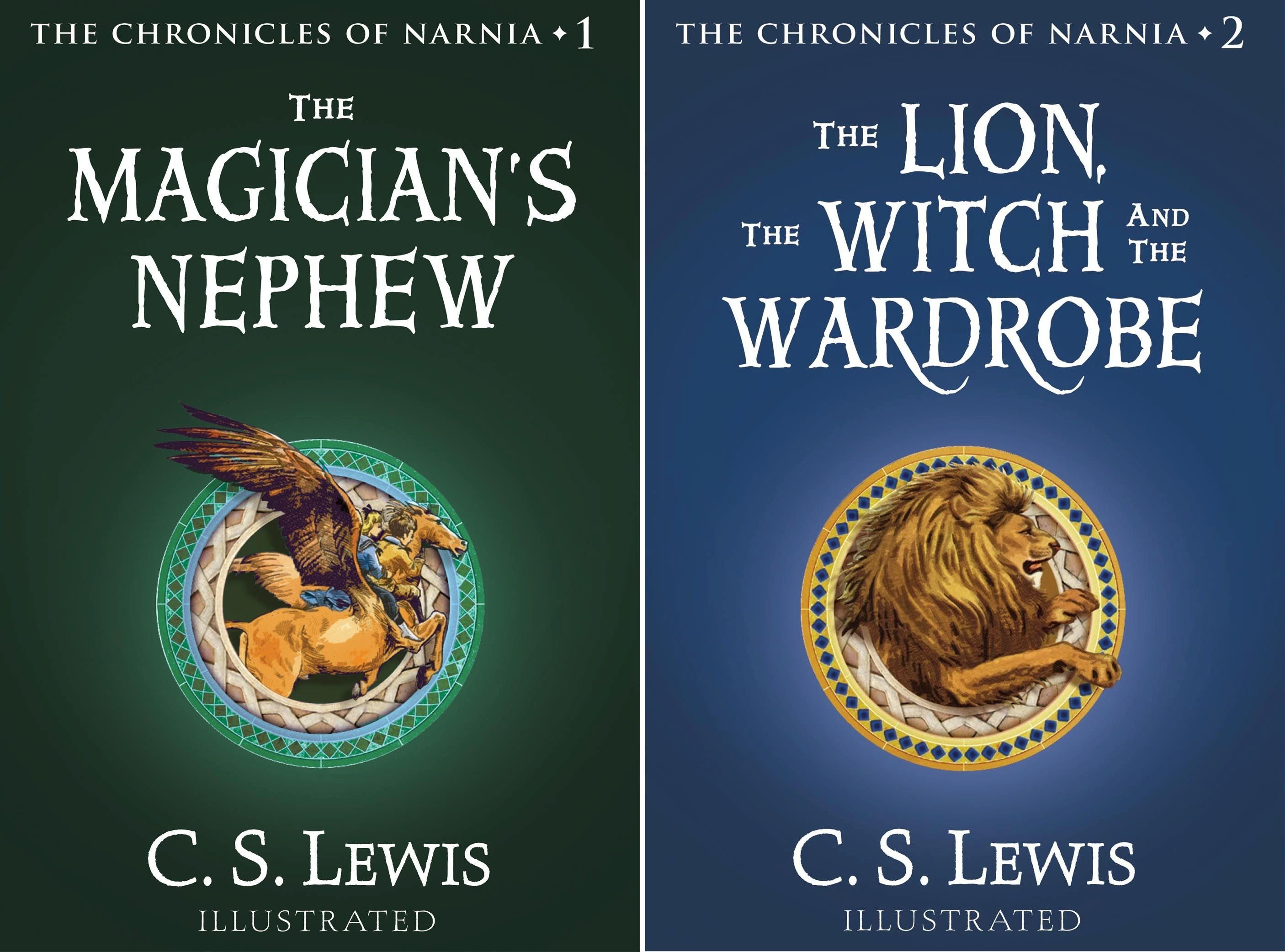 The Chronicles of Narnia Full-Color Oversize Gift Edition Box Set: The Magician's Nephew; The Lion, the Witch, and the Wardrobe (2 Book Series)