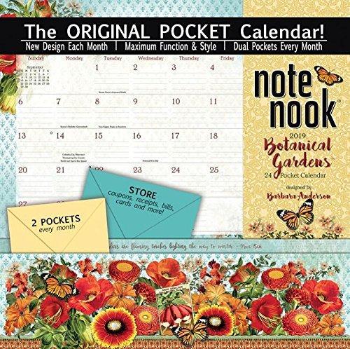 Note Nook Botanical Gardens 2019 Pocket Calendar
