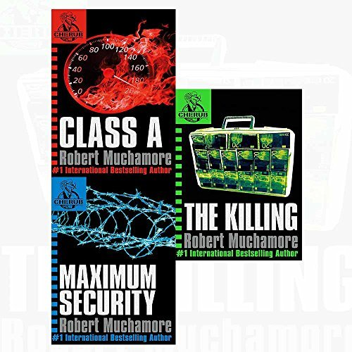 Cherub (2-4) class a, maximum security, killing 3 books collection set
