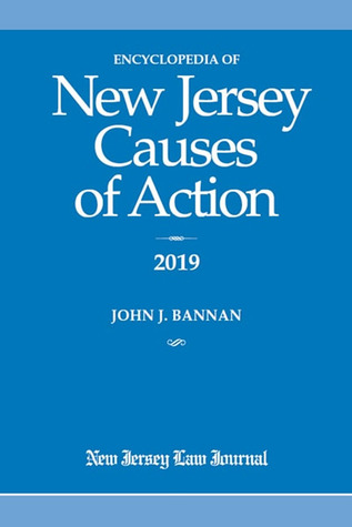 New Jersey Causes of Action 2019