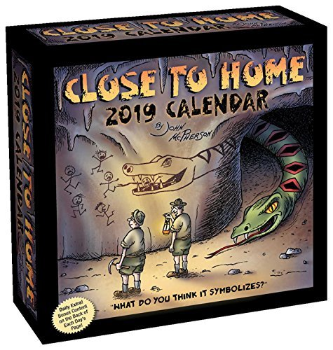 Close to Home 2019 Day-to-Day Calendar