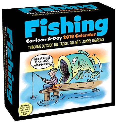 Fishing Cartoon-A-Day 2019 Calendar