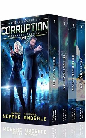 Precious Galaxy Boxed Set (Books 1-4): Corruption, Investigation, Determination, Obliteration