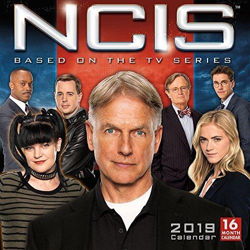 NCIS 2019 Square Wall Calendar