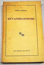 Métaphilosophie. Prolégomènes.
