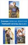 Harlequin Special Edition February 2018 Box Set 2 of 2: A Soldier in Conard County\A Bride for Liam Brand\The Marine's Secret Daughter