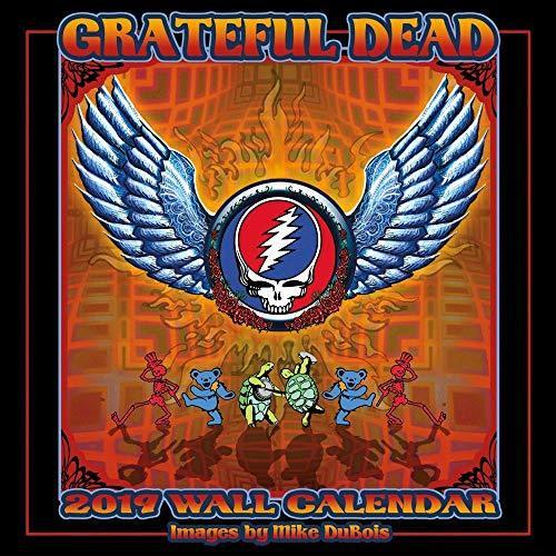 Grateful Dead 2019 16 Month Wall Calendar