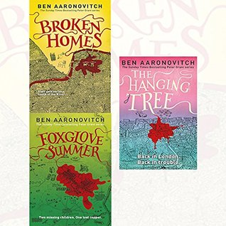 Ben Aaronovitch PC Grant Mystery Collection 3 Books Set