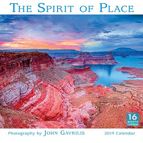 2019 the Spirit of Place 16-Month Wall Calendar: By Sellers Publishing