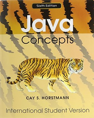 Java Concepts 6E for Java 7 and 8 International Student Version with WileyPLUS Set