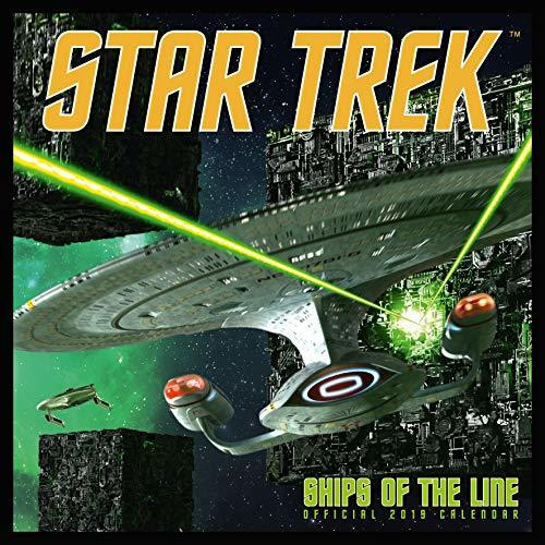 Star Trek: Ships Of The Line Official 2019 Calendar - Square Wall Calendar Format