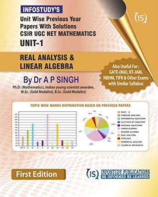 Unit-wise Previous Year Papers with Solutions CSIR UGC NET MATHEMATICS UNIT-1