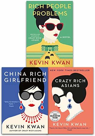 Kevin Kwan Crazy Rich Asians Trilogy Collection 3 Books Set Pack