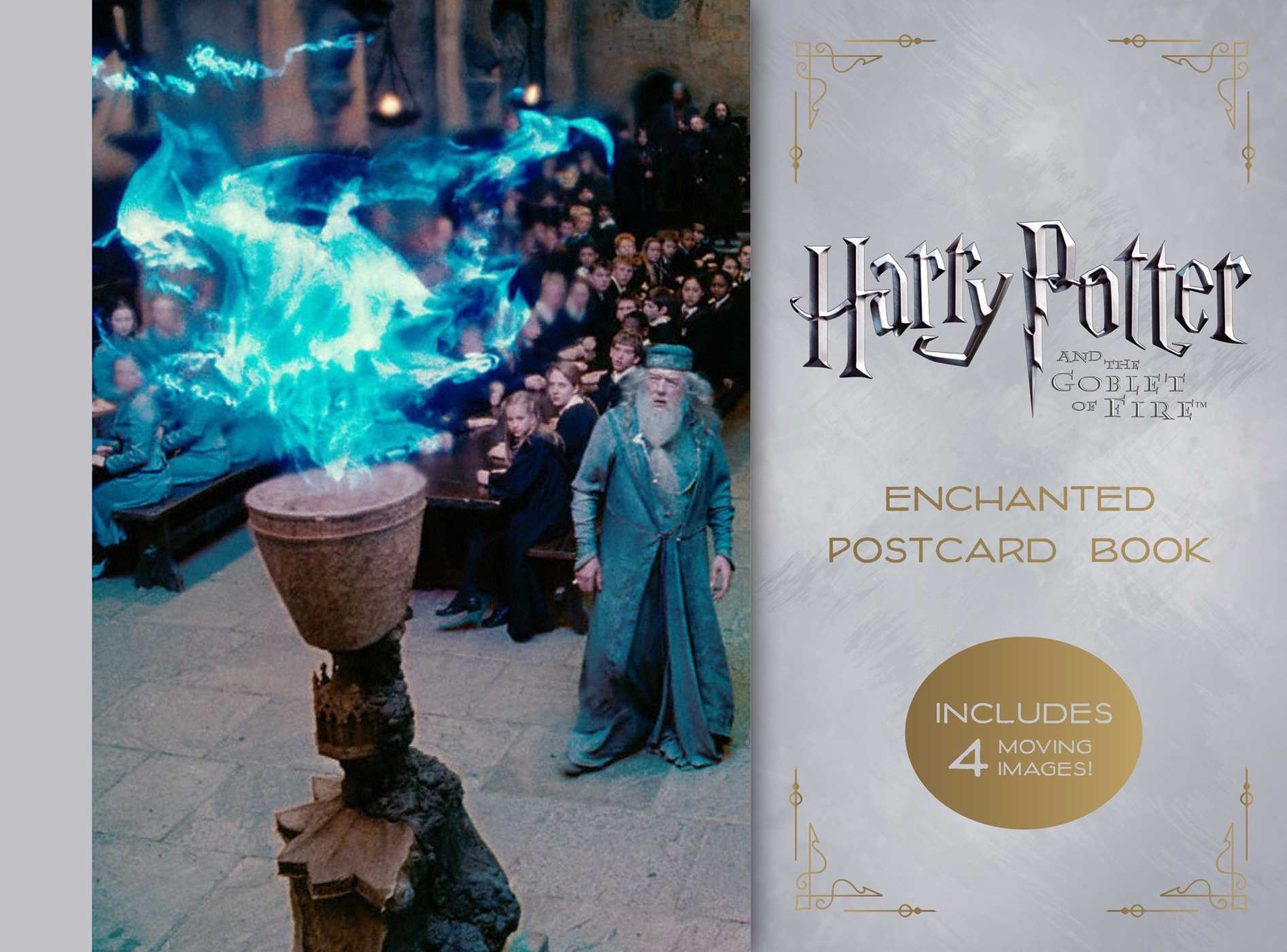 Harry Potter and the Goblet of Fire Enchanted Postcard Book