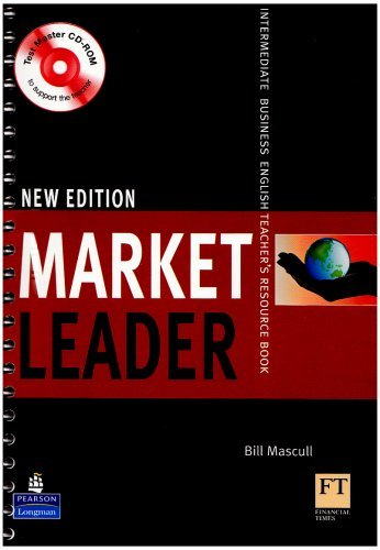 Market Leader Intermediate Teachers Book New Edition and Test Master CD-Rom Pack