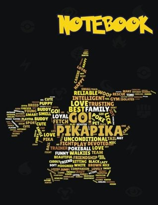 Notebook: Pokemon notebook, Large College Ruled Notebook, (8.5x11 inches ) 120 pages v.58