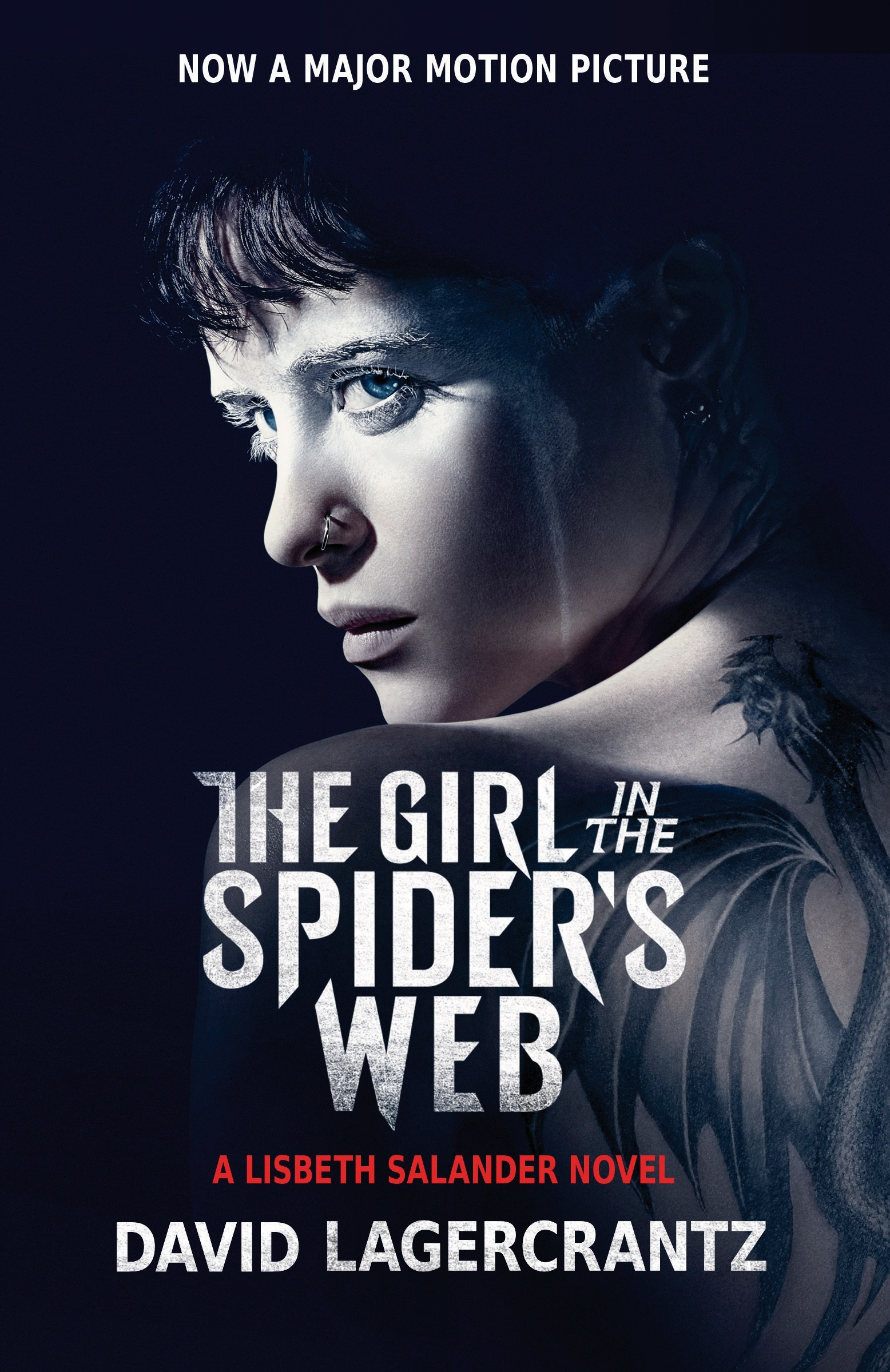 The Girl in the Spider's Web (Movie Tie-In): A Lisbeth Salander Novel, Continuing Stieg Larsson's Millennium Series