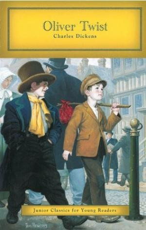 """""""Oliver Twist"""" by Charles Dickens - Junior Classics for Young Readers"""