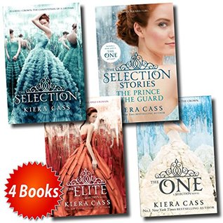 The Selection Collection Kiera Cass 4 Books Set