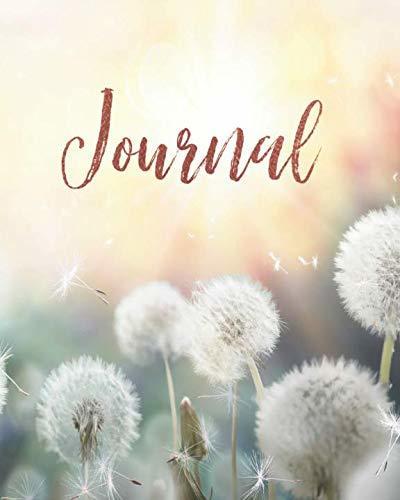 Journal: Dandelion Beautiful Hearts Duet Notebook