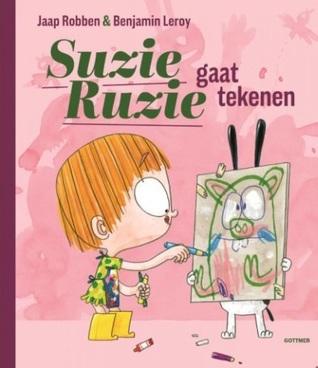 Suzie Ruzie gaat tekenen