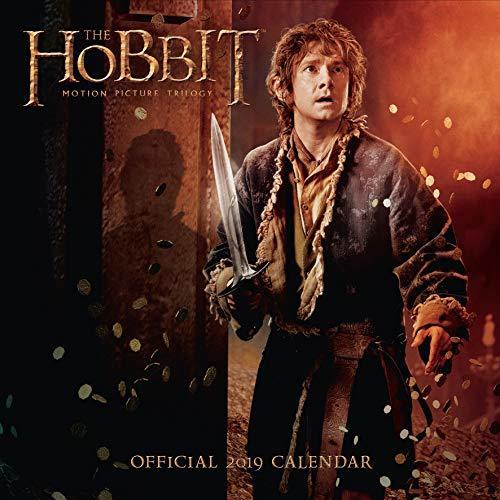 The Hobbit Official 2019 Calendar - 16 Month Square Wall Calendar Format